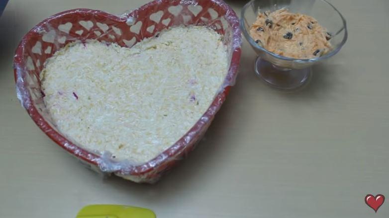"""Очень вкусный салат """"Любовница"""". Пошаговый рецепт с фото."""