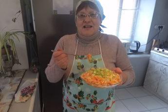 Салат луковый