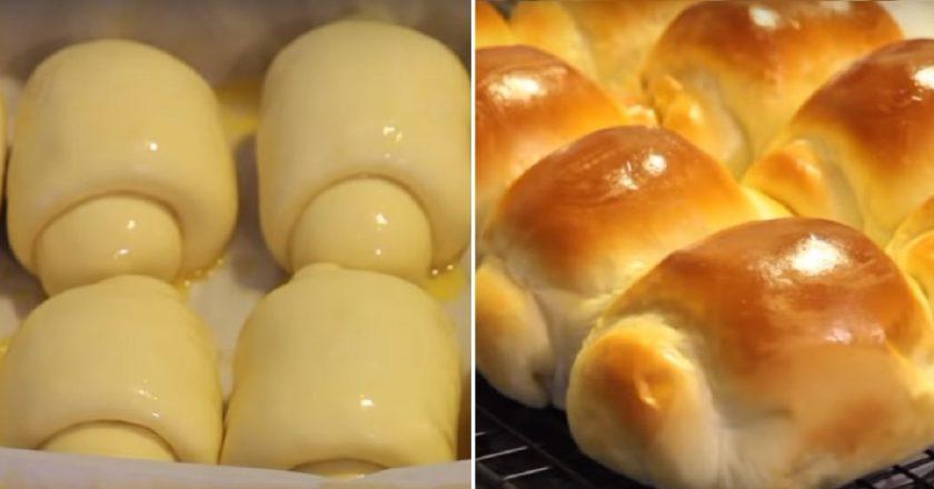 Как приготовить тесто для булочек Хоккайдо - Секреты японского пекаря!