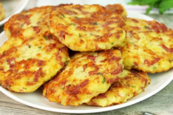 Вкусные, ароматные и нежные картофельные шницели за 5 минут!