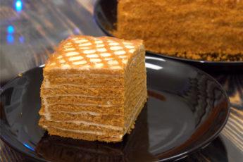 Удивительный карамельный торт за 30 минут!