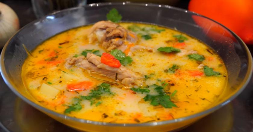 Быстрый курицы суп по новому рецепту! Такого вы еще не пробовали!