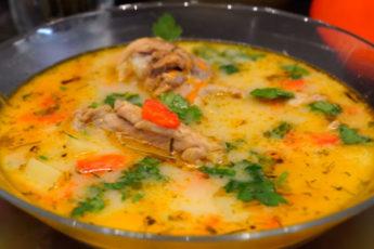 Быстрый куриный суп по новому рецепту! Такого вы еще не пробовали!