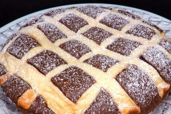 Воздушный и нежный творожно-шоколадный пирог за 10 минут!