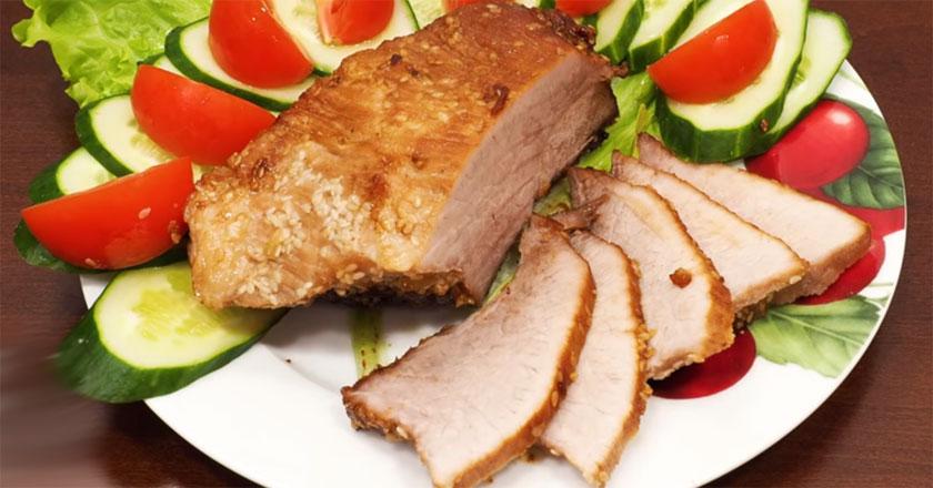 Буженина в мультиварке за 1 час! Идеальное мясо для бутербродов!