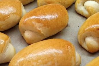 Сладкие, мягкие и воздушные булочки с интересной начинкой!