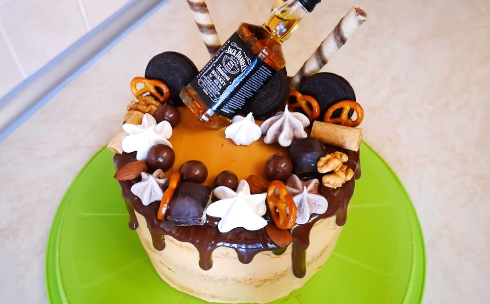 Торт для любимого мужчины! Порадуйте именинника!
