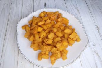Карамельно-лимонная тыква в духовке! Быстрый и вкусный десерт!