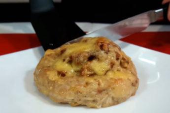Вкусное блюдо из фарша с грибами! Простой рецепт!