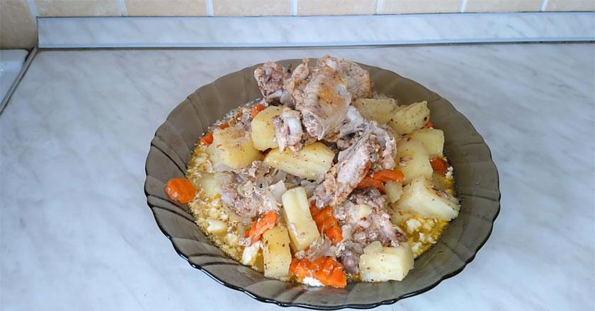 Необычный рецепт приготовления курицы! Очень вкусное блюдо!