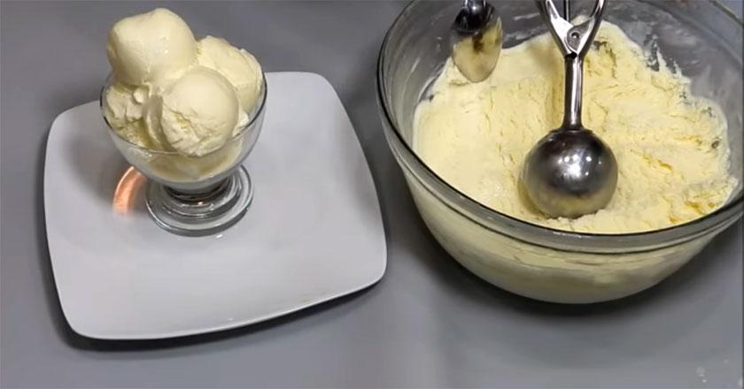 Сливочное мороженое из детства! Ну очень вкусно!