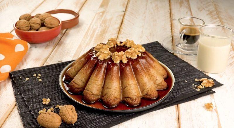 Ореховый флан с карамелью: нежнейший десерт на скорую руку.