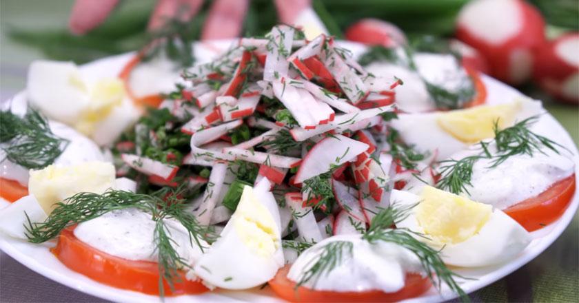 Невероятно вкусные, свежие и полезные салаты!