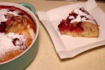 Клубничный пирог к чаю! Вкусный и ароматный десерт!