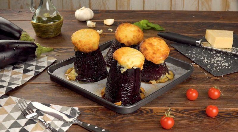 """""""Вулкан"""" из баклажана с соусом болоньезе: простой, красивый и очень вкусный рецепт."""