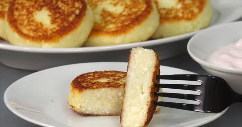 Потрясающе вкусные сырники за 10 минут!