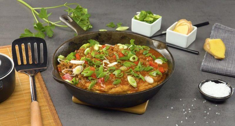 Восхитительный омлет по-азиатски: 2 простых, красивых и вкусных экзотических рецепта.