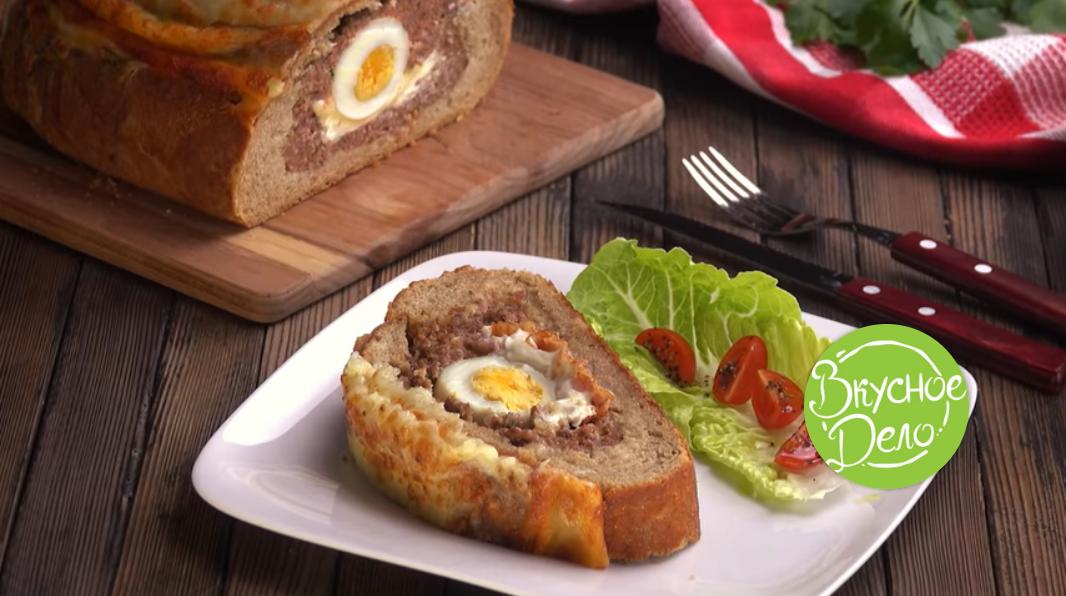 Это не просто хлеб с мясом и сыром, а настоящий кулинарный шедевр!