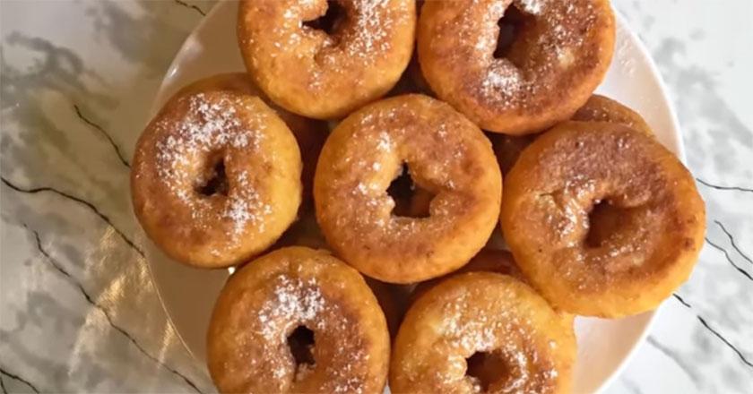 Пончики из творога - простой и быстрый рецепт!