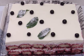 Тирамису из смородины! Такого легкого и быстрого торта вы еще не пробовали!