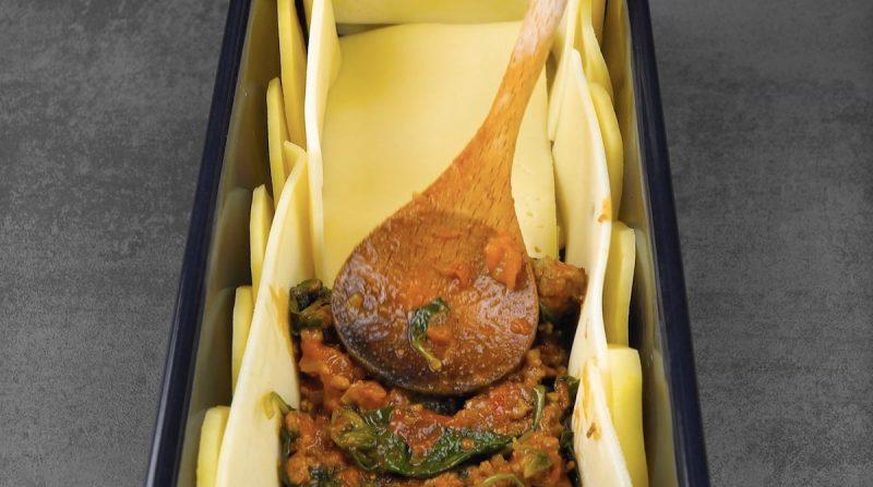 Картофельная запеканка с мясом и сыром на скорую руку. Когда совсем нет времени!
