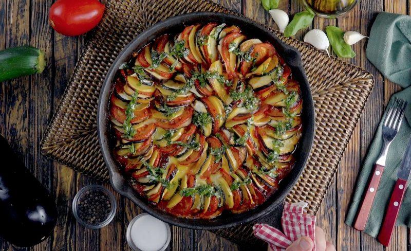 Рецепт рататуй - легендарное блюдо с восхитительным вкусом!