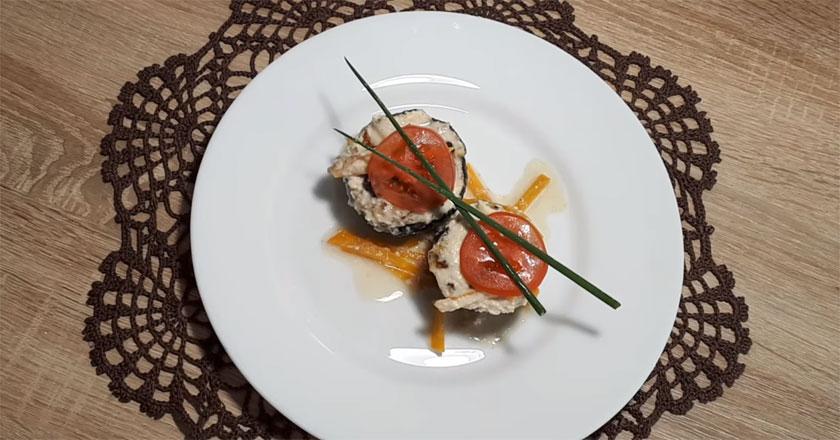 Фаршированные кабачки и сметанный соус - идеальное сочетание!