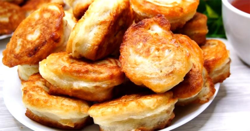 Пирожки из лаваша с картофелем и фаршем! Невероятно вкусная выпечка!