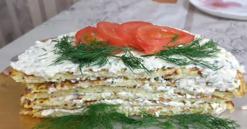 Невероятно вкусный кабачковый торт!