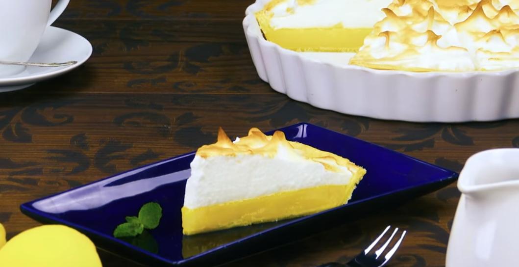 Нежнейший лимонный пирог с безе: 5 шагов к совершенному вкусу