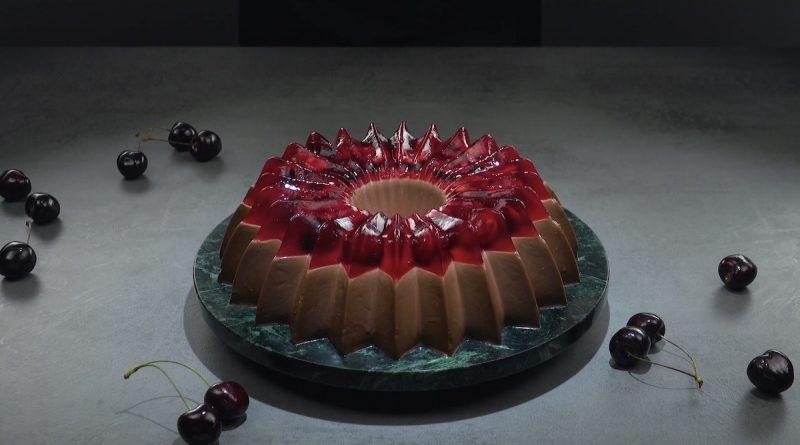 Шоколадный мусс с вишней: очень красивый, простой и вкусный десерт - на радость всем!