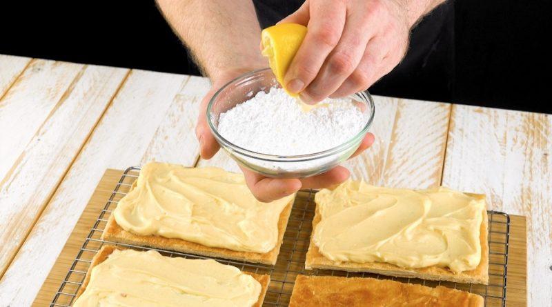 """Простейший рецепт торта """"Наполеон"""" с заварным кремом. Нежнейший десерт!"""