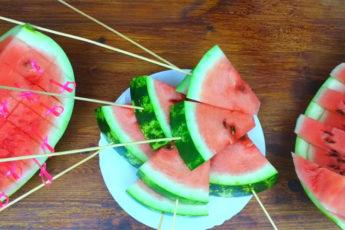 Три варианта нарезки арбуза! Быстро, удобно и легко!