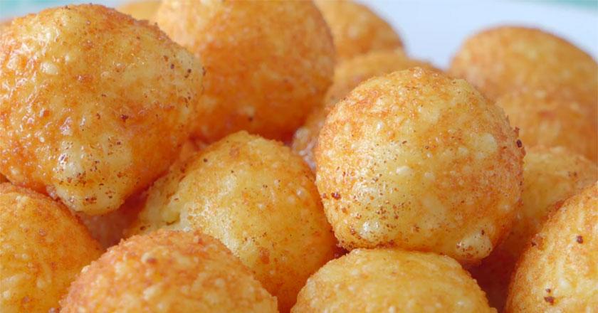Хрустящие сырные шарики за 15 минут!