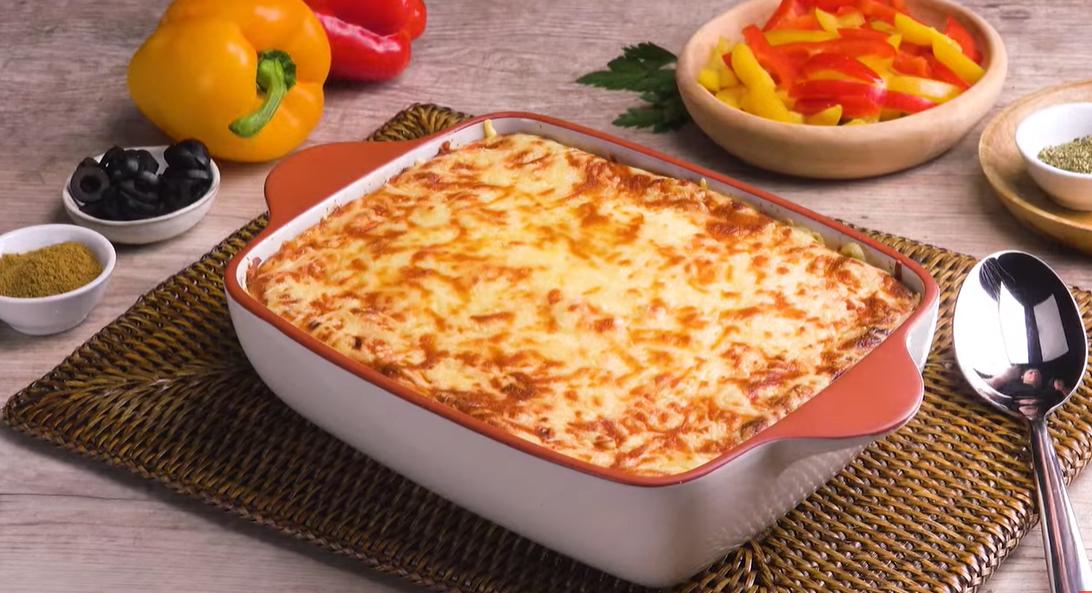 """Запеканка с мясом по-гречески """"Гирос"""": сытный и вкусный рецепт на каждый день."""