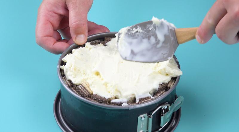 """Домашний вафельный торт-мороженое """"Мечта"""": самый простой десерт к празднику."""