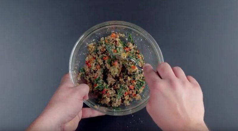 XXL-Тортеллони с фаршем и шпинатом: оригинальное и очень вкусное блюдо!