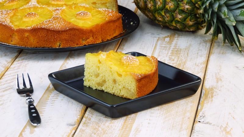 Ананасовый пирог: фруктовый и сочный десерт на каждый день