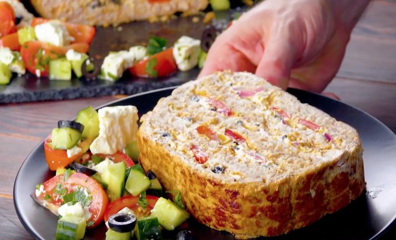 Гирос XXL - оригинальный рецепт мяса по-гречески. Блюдо для большого праздника!