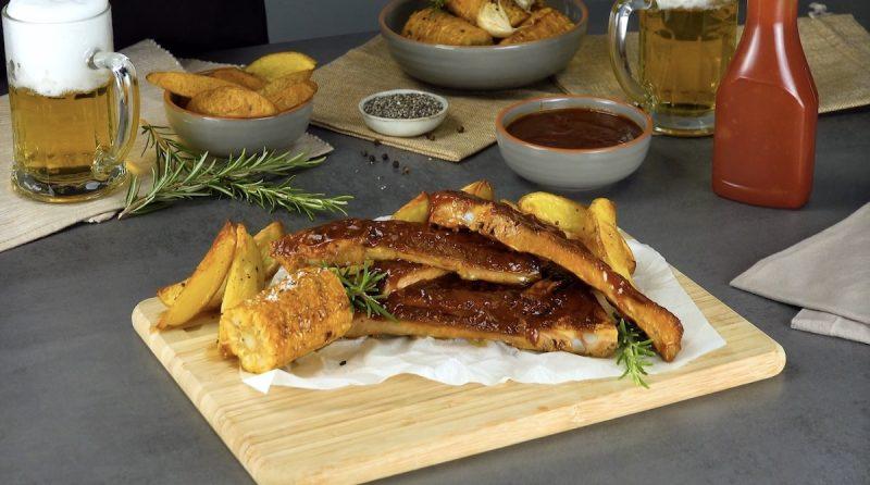Готовим нежные и ароматные ребрышки - как в ресторане! Восхитительное блюдо к ужину.