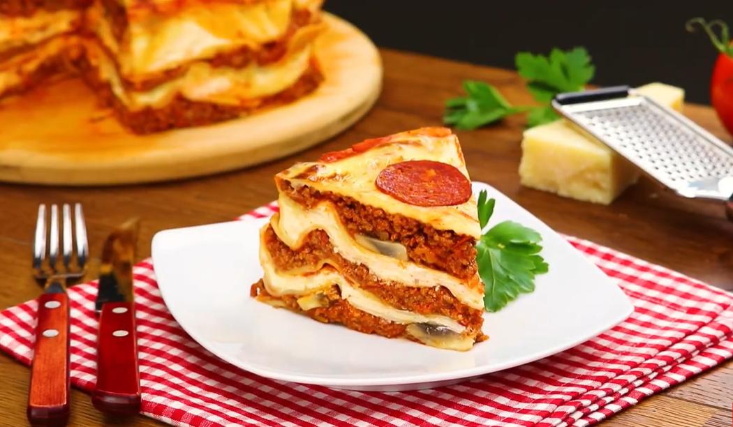 Пицца-лазанья: когда не хочется выбирать из двух любимых блюд