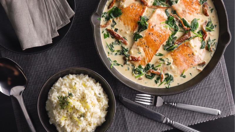 Потрясающий ужин на двоих: такой вкусной рыбки мы еще не ели!