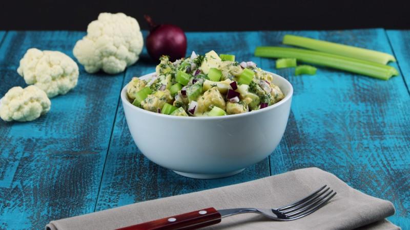 Салат из цветной капусты: просто находка для любителей здоровой пищи