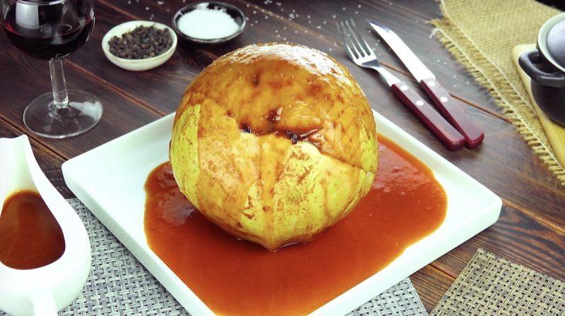 Фаршированная капуста с мясной начинкой: простое и оригинальное блюдо к ужину.