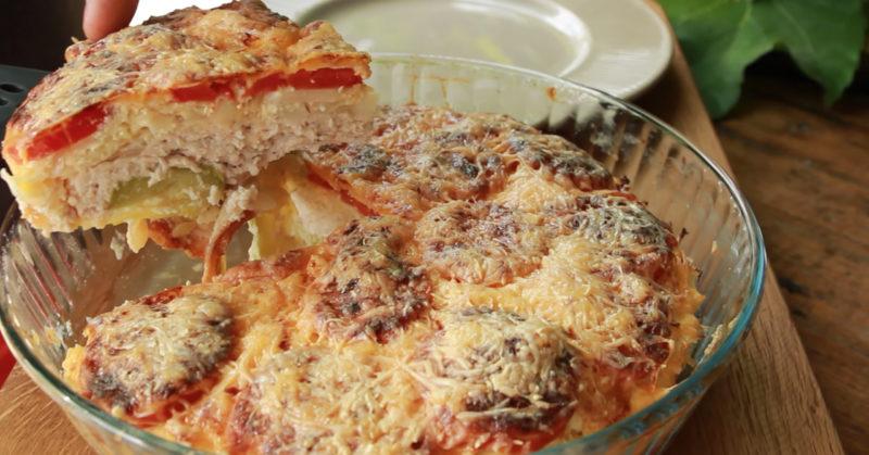 Сочная запеканка из кабачков с мясом - обалденный рецепт!