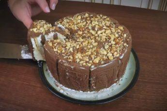 Рецепт нежнейшего сливочного торта