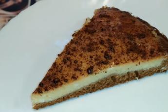 Творожный пирог на скорую руку