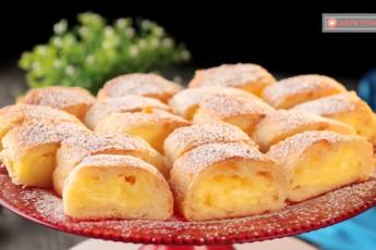 Пирожные «Великолепие» и «Изумление»