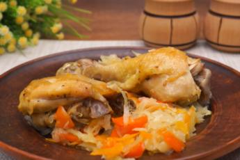 Курица с белокочанной капустой в рукаве: непривычный, но очень вкусный рецепт - минимум грязной посуды, максимум удовольствия