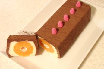 Мандариновый десерт без выпечки и печенья. Полезно, вкусно, просто.